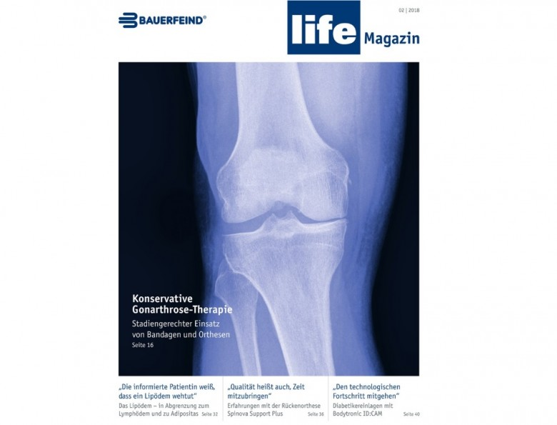 NEW ISSUE OF THE SPECIALIST MAGAZINE - BAUERFEIND LIFE