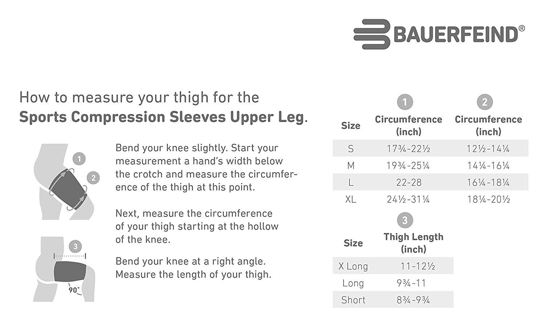 Bauerfeind Sports Compression Sleeves Upper Leg